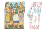 Primary Cutout Illustration Sons of Mosiah and Angel