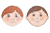 Primary Cutout Illustration Faces