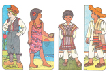 Primary Cutout Illustration Children