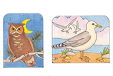 Primary Cutout Illustration Birds