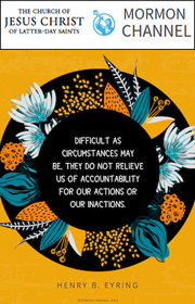 Circumstances Do Not Relieve Us of Accountability.