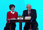 Kristen and Dallin Oaks