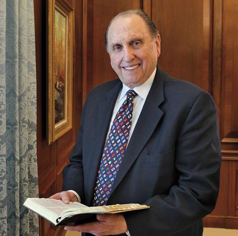President Thomas S Monson