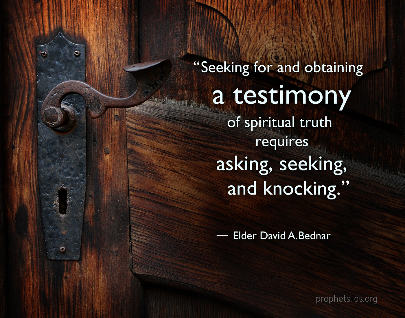 how to give a testimony lds