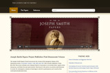 screenshot of josephsmithpapers.org