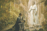 heavenly messenger visiting Joseph Smith