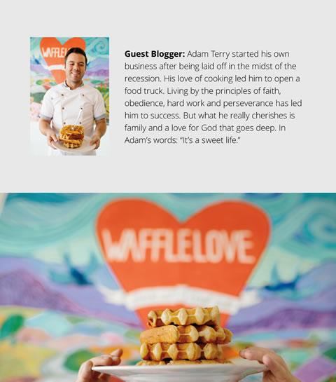 Self Reliance Loving God And Making Waffles
