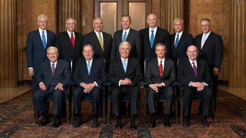 The Quorum of the Twelve Apostles in 2018