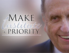 LDS President Thomas S. Monson make institute a priority
