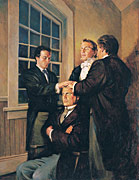 Joseph Smith Ordaining Parley P. Pratt as an Apostle