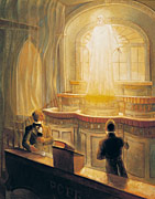 Jesus Christ Appearing to Joseph Smith and Oliver Cowdery in the Kirtland Temple