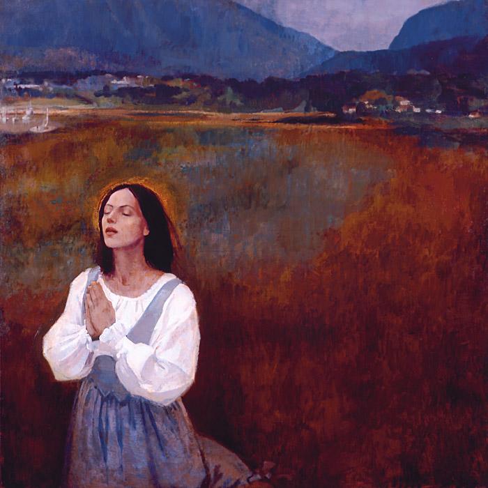 Prayer at Lowtide Pray Always ensign