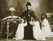 Sister Manwaring and Daughters at Prayer