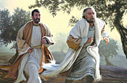 The Disciples Peter and John Running to the Sepulchre