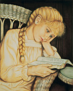 Girl Studying Scriptures