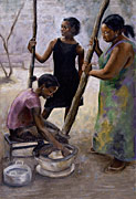 Preparing Dinner, Emma Boateng