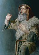 detail from Moses Seeing Jehovah