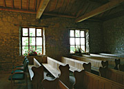 Gadfield Elm chapel interior