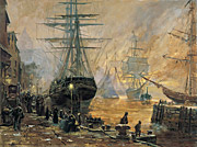 Embarkation of the Saints at Liverpool