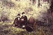 Heber J. Grant and other missionaries in Japan