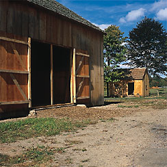Barn and cooper shop