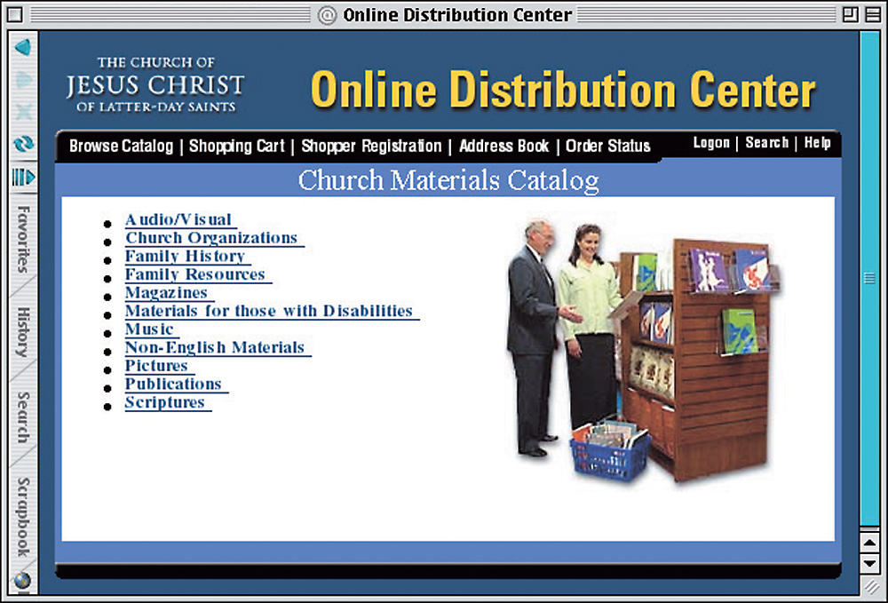Order Church materials