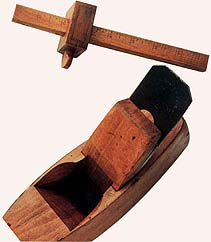 Two of Brigham Young's carpentry tools