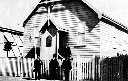 Australia's first LDS meetinghouse