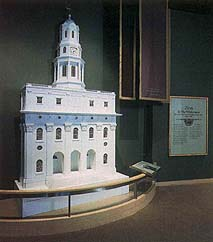 A facade of the Nauvoo Temple