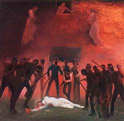 Violence forced the Saints from Nauvoo