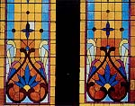Vivid stained glass windows
