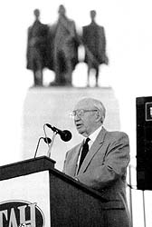 President Hinckley