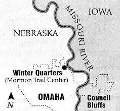 Map of Winter Quarters