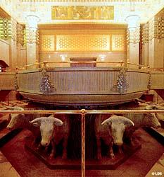 Baptismal font, Alberta Temple