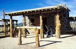 The original blacksmith shop