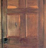 The jail door still bears the scars of bullets fired on 27 June 1844