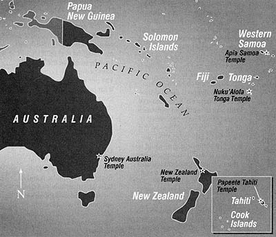 Map of the Pacific Area