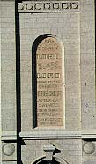 house of the Lord inscription