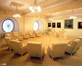 The council room of the Twelve Apostles.
