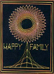 Happy Family string art