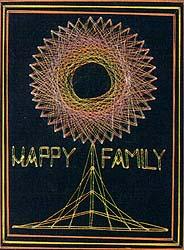 Happy Family string art