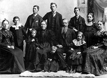 The Joseph F. and Julina Lambson Smith family