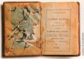 The hymnal compiled in 1835