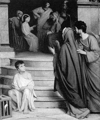 The Twelve-Year-Old Jesus in the Temple