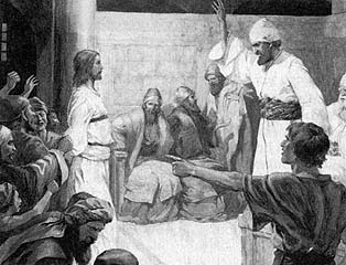 The Lord Accused before Caiaphas