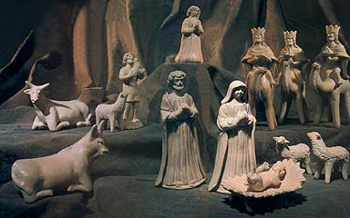 Nativity scene from Guatemal