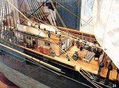 Scenes on deck