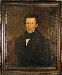 An 1843 portrait of Egbert B. Grandin