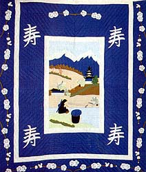 Brent's Japanese Mission Quilt