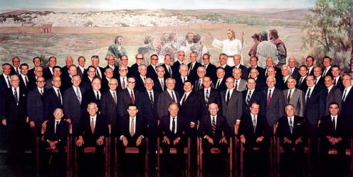 The First Quorum of the Seventy